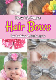 hair bows for how to make hair bows for babies involvery community