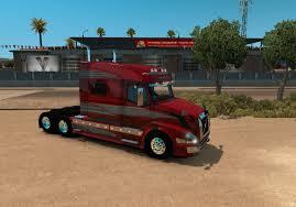 680 volvo truck volvo vnl 730 red fantasy skin for vnl truck shop american truck