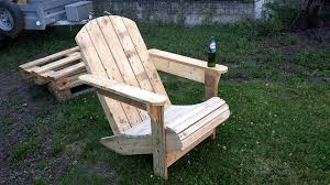 Used Adirondack Chairs How To Build A Pallet Adirondack Chair