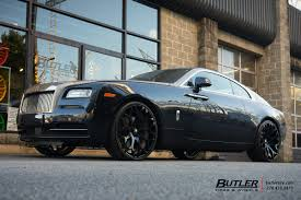 roll royce wraith on rims rolls royce wraith with 24in forgiato drea ecl wheels exclusively