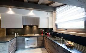 agencement de cuisine agencement cuisines pose parquet megève haute savoie 74