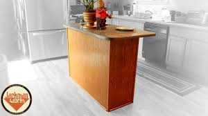 simple kitchen island simple kitchen island build