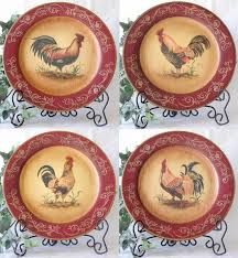 french country decor rooster plates set of 4 google image result french country decor rooster plates set of 4 google image result for