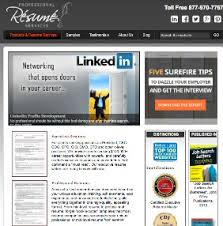 Professional Resume Services Website  Executive Resume Writers   Executive Resume Services by Erin Kennedy