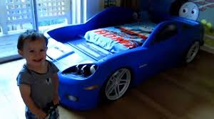 step2 corvette toddler to bed with lights corvette bed