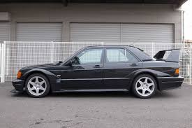 there u0027s a super rare 1991 mercedes 190e 2 5 16v evo ii for sale in