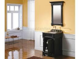 bathroom antique black bathroom vanity with large wall mirror