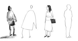 what the way you sketch scale figures says about you archdaily