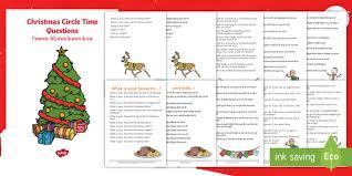 100 christmas circle time questions booklet english hindi