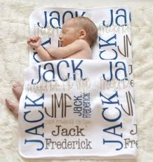 customized baby add comfort to your sleep with blankets home design
