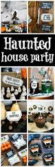 spooky halloween haunted house party pretty my party