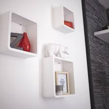 etagere murale chambre ado etagères cube en blanc laqué chambre ados etagere