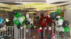 soccer party ideas soccer theme birthday party ideas from party city
