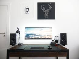 Tech Computer Desk My Highly Minimalistyc Home Office With Custom Reclaimed Wood Desk