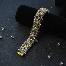 diy glass bead bracelet images Pandahall tutorial on how to diy glass beaded crystal bracelets jpg