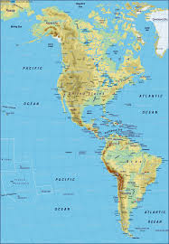 Map Of America by Map Of America Map Of The World Physical Map In The Atlas Of