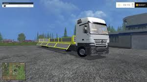 mercedes truck mercedes benz actros 1844 truck v1 farming simulator 2017 2015