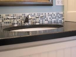 Backsplash Ideas For Bathroom Bathroom Delectable Backsplash Ideas For Bathroom Half Bath
