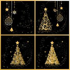 christmas background with snowflakes ornaments vector free vector