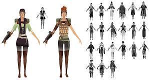 female clothing variants worlds adrift