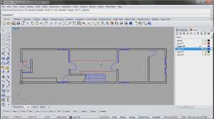 How To Make A House Floor Plan Azuma House Part 1 Of 4 Plan Drawings In Rhino Youtube