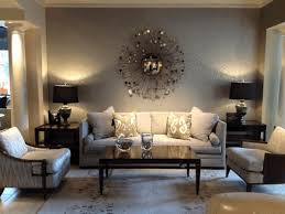home interior wall sconces room decor ideas round glass top coffee table circles pattern rugs