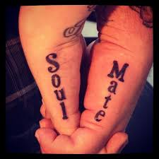 Bf Gf Tattoo Ideas Best 25 Soul Mate Tattoo Ideas On Pinterest You Complete Me