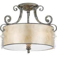 kitchen semi flush lighting quoizel lighting semi flush ceiling lighting style traditional