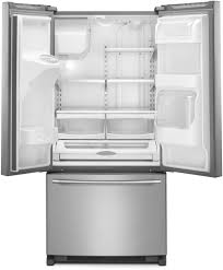 Glass Refrigerator Doors by Maytag Mfi2269frz 33 Inch French Door Refrigerator With Powercold
