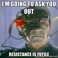 Chat Up Line Meme - 10 hilarious star trek pick up lines the geek twins