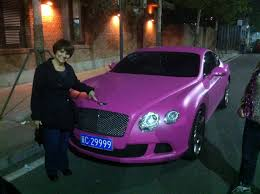 pink bentley a pink bentley 10 26 13 the harts in china