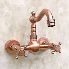 wall mounted kitchen sink faucets antique copper wall mounted kitchen sink faucet mixer basin