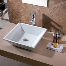 Lowes Vessel Vanity Bathroom Glass Vessel Sinks Sink Vanity Lowes Drop In