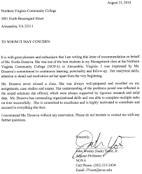 collection of solutions job application recommendation letter