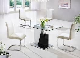 Small Glass Dining Room Tables Glass Dining Room Table And Chairs Futuristic Dining Room Small