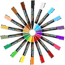 amazon com chalkmaster liquid chalk markers ultimate 18 color
