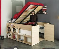 How To Build A Full Size Loft Bed With Desk by Clever Bed Designs With Integrated Storage For Max Efficiency