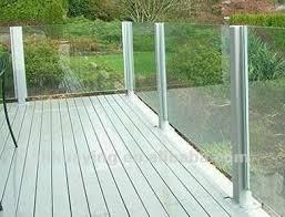 glas balkon ausgeglichenes glas balkon geländer buy product on alibaba