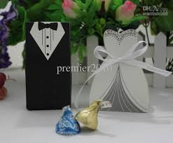 and groom favor boxes hot tuxedo dress groom bridal wedding favours boxes candy box