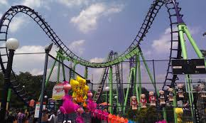 Six Flags Address Nj Corkscrews And Boomerangs The First Part Of A Journey Through The