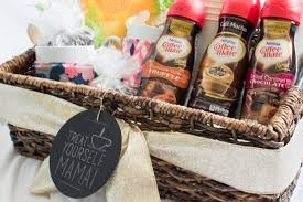 Coffee Gift Baskets Treat Yourself Mama A Coffee Lovers Gift Basket Simply Made Fun