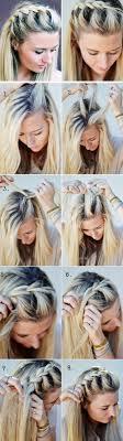 Frisuren Mittellange Haare Zopf by Haare Flechten Mittellange Haare Schöne Frisur Mit Zopf