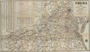 Virginia Highway Map by Guide To The Commonwealth Table Of Contents