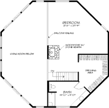 Octagon Home Floor Plans by Contemporary Style House Plan 4 Beds 2 00 Baths 3172 Sq Ft Plan