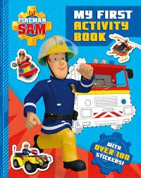 fireman sam activity book fireman sam penguin
