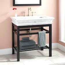Console Sinks Bathroom Sinks Art Console Sink Metal Uk Stands Home Depot Metal Sink