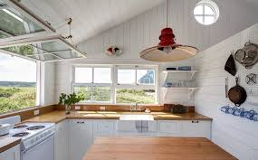 browse kitchens archives on remodelista kitchen of the week a compact nautical entertaining kitchen on cape cod