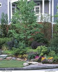 Drainage Problems In Backyard - dry stream does double duty fine gardening
