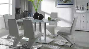 Distressed Leather Dining Chairs Dining Room Awesome Dining Room Set With Leather Chairs Trendy