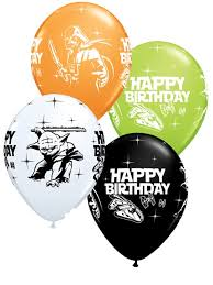 wars balloons delivery wars happy birthday 11 balloons 25pk